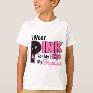 Je porte le rose pour mon CANCER DU SEIN de la T-shirt