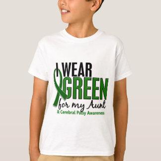 Je porte le vert pour ma tante 10 infirmité t-shirt