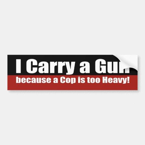 Je porte un pistolet autocollant pour voiture - Comment enlever un autocollant ...