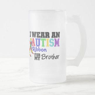 Je porte un ruban d'autisme pour mon frère tasses
