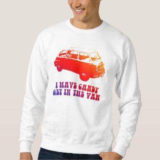 Je prends la sucrerie, obtiens dans le Van Sweatshirt