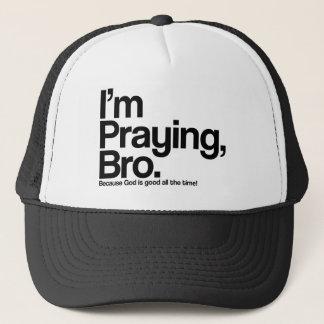 Je prie le casquette de chrétien de Bro