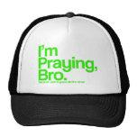 Je prie le chapeau de chrétien de Bro Casquettes De Camionneur