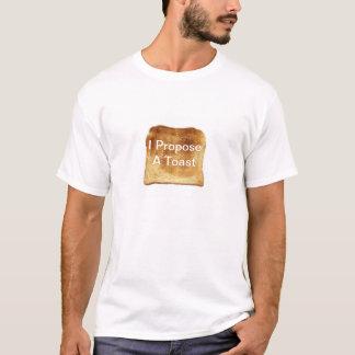Je propose un pain grillé t-shirt