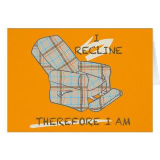 """""""Je repose"""" carte vierge"""