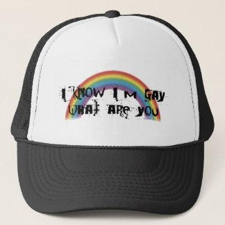 Je sais que je suis casquette gai