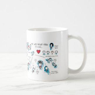 Je sans vous - Valentine - amour Mug