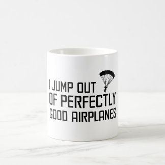 Je saute des avions parfaitement bons mug
