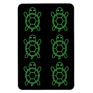 Je sauve des tortues ! magnet flexible