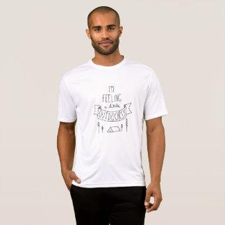 Je sens un T-shirt de petits hommes Outdoorsy