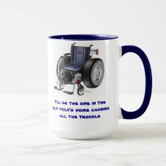 Je serai celui dans les vieux gens causant à la mug