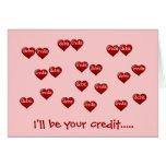 Je serai votre crédit .....