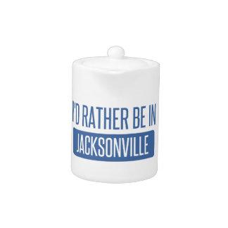Je serais plutôt à Jacksonville FL