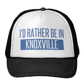 Je serais plutôt à Knoxville Casquette De Camionneur