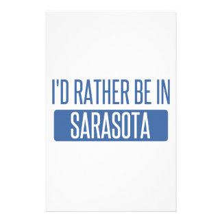 Je serais plutôt à Sarasota Papier À Lettre Customisé
