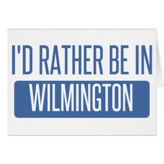 Je serais plutôt à Wilmington De Carte De Vœux