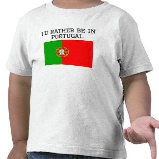 Je serais plutôt au Portugal T-shirt