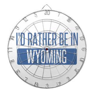 Je serais plutôt au Wyoming Jeu De Fléchettes
