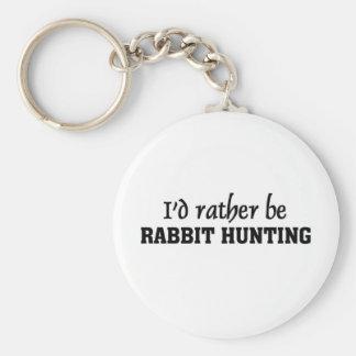 Je serais plutôt chasse de lapin porte-clé rond