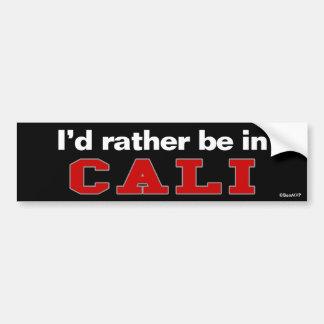 Je serais plutôt dans Cali Autocollant De Voiture