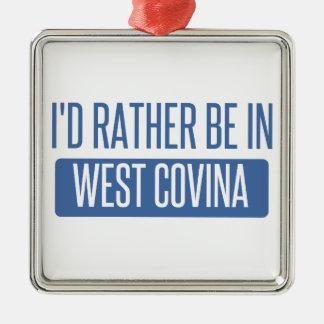 Je serais plutôt dans Covina occidental Ornement Carré Argenté