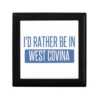 Je serais plutôt dans Covina occidental Petite Boîte À Bijoux Carrée