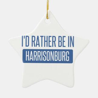 Je serais plutôt dans Harrisonburg Ornement Étoile En Céramique