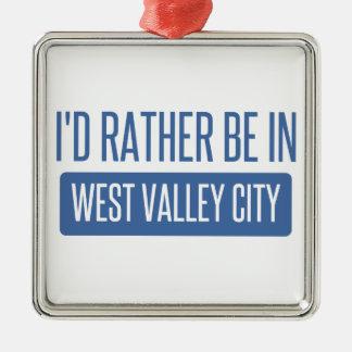 Je serais plutôt dans la ville occidentale de ornement carré argenté