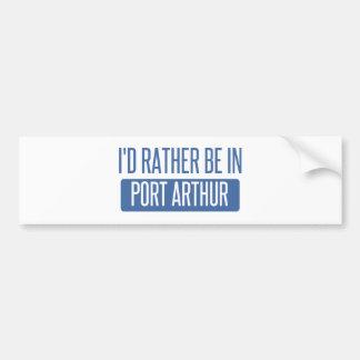 Je serais plutôt dans le Port Arthur Autocollant Pour Voiture
