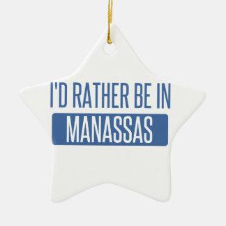 Je serais plutôt dans Manassas Ornement Étoile En Céramique