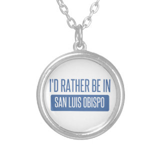 Je serais plutôt dans San Luis Obispo Pendentif Rond