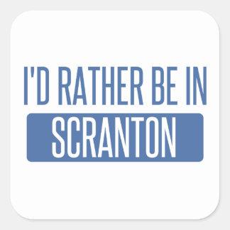 Je serais plutôt dans Scranton Sticker Carré