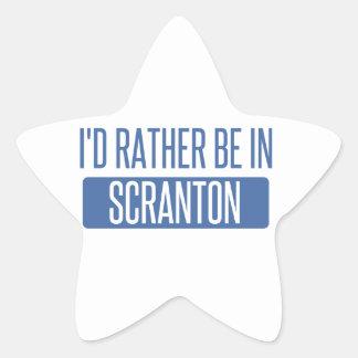 Je serais plutôt dans Scranton Sticker Étoile