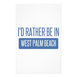 Je serais plutôt dans West Palm Beach Motifs Pour Papier À Lettre