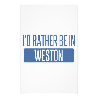 Je serais plutôt dans Weston Papiers À Lettres
