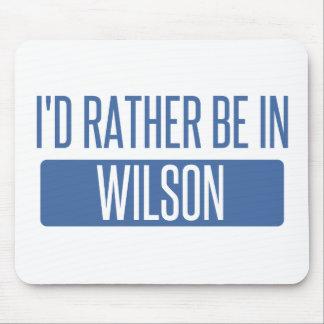 Je serais plutôt dans Wilson Tapis De Souris