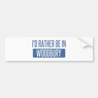 Je serais plutôt dans Woodbury Autocollant Pour Voiture