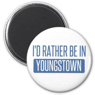 Je serais plutôt dans Youngstown Magnet Rond 8 Cm