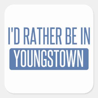 Je serais plutôt dans Youngstown Sticker Carré