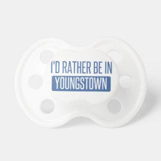Je serais plutôt dans Youngstown Tétine