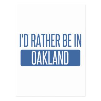 Je serais plutôt en parc d'Oakland Carte Postale