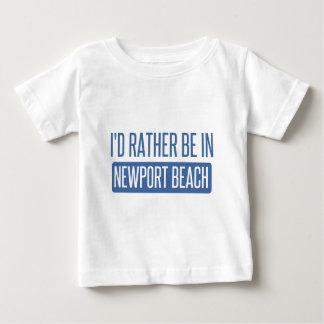 Je serais plutôt en plage de Newport T-shirt Pour Bébé