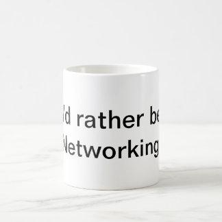 Je serais plutôt mise en réseau ! mug