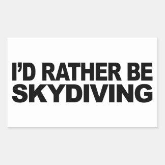 Je serais plutôt parachutisme autocollants rectangulaires