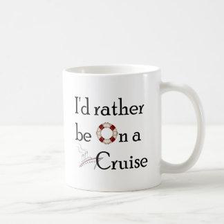 Je serais plutôt sur une croisière mug