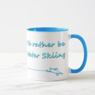 Je serais plutôt tasse de ski d'eau