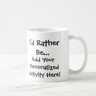 Je serais plutôt… tasse personnalisée