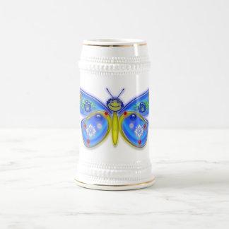 Je souhaite que j'aie été un papillon chope à bière