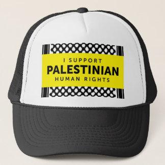 Je soutiens le casquette palestinien de droits de