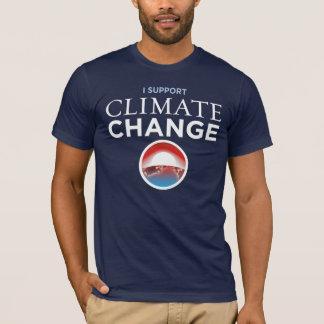 Je soutiens le changement climatique - T-shirt de